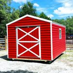 Red shed little barn horse tack room shed for sale Robin sheds Probuilt Structures Sheds For Sale In Central Florida Shed in citrus county and sheds in marion county