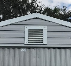 12 x 12 Gable Vent White