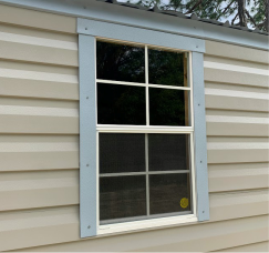 22W x 36H Vertical Slide Colonial Window