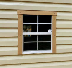 Standard 22W x 27H Vertical Slide Colonial Window