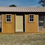 Double Kennel for dogs for sale in central Florida probuilt structures
