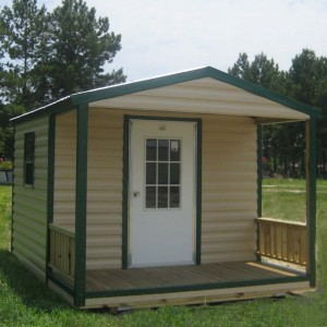 Porch Model Shed